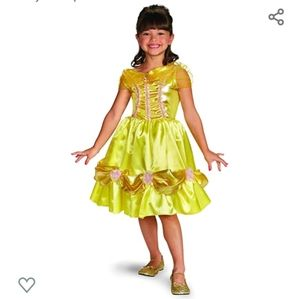 Girls beauty and the beast Belle costume